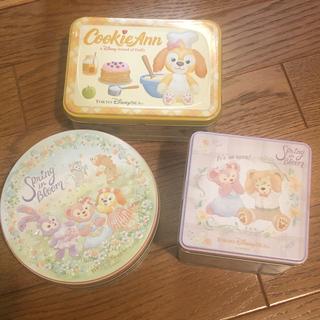 ディズニー(Disney)の3点セット ディズニシー お菓子 ダッフィー&フレンズのスプリング・インブルーム(菓子/デザート)