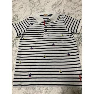 mikihouse - ミキハウス   大人気のヨット(マリン)ポロシャツ  着用回数少ない美品です!