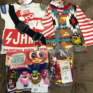 JAM - JAM半袖Tシャツ2枚(80)長袖(90)ゴッサムレギパン(90)セット