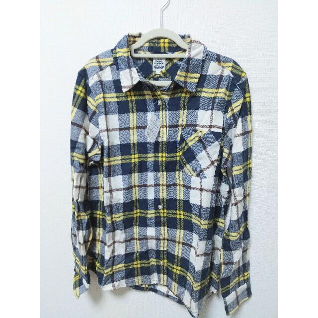 rough(ラフ)の【新品未使用】rough チェックシャツ レディースのトップス(シャツ/ブラウス(長袖/七分))の商品写真