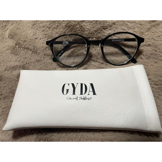 GYDA(ジェイダ)のGYDA メガネ レディースのファッション小物(サングラス/メガネ)の商品写真