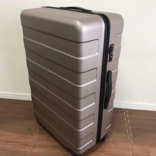 ムジルシリョウヒン(MUJI (無印良品))の無印良品 無印 MUJI 85L スーツケース キャリーケース ベージュ(旅行用品)