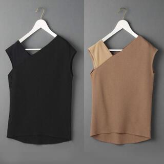 BEAUTY&YOUTH UNITED ARROWS - 6(ROKU) THERMAL ONE SHOULDER