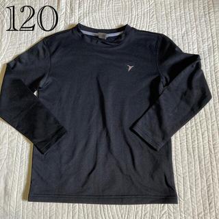 オールドネイビー(Old Navy)のOLDNAVY 120 アンダーシャツ 長袖 黒(ウェア)