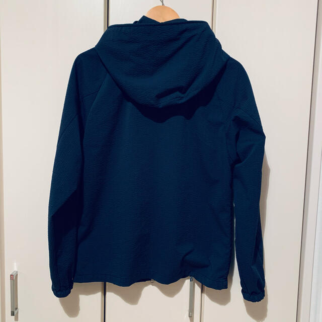 THE NORTH FACE(ザノースフェイス)のパープルレーベル シアサッカー マウンテンウィンドパーカ ネイビー S メンズのジャケット/アウター(マウンテンパーカー)の商品写真