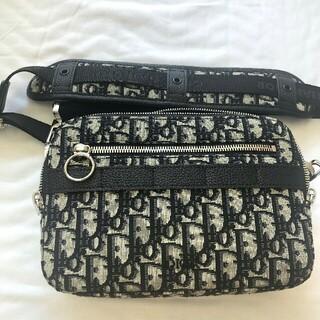DIOR HOMME - 美品 Dior ディオール オブリーク メッセンジャー ショルダーバッグ