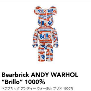 """メディコムトイ(MEDICOM TOY)のBearbrick ANDY WARHOL """"Brillo"""" 1000%(その他)"""