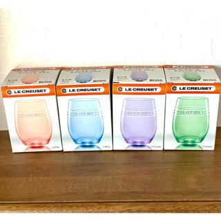 LE CREUSET - ルクルーゼ ☆ グラス 4種類
