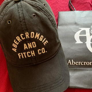 Abercrombie&Fitch - アバクロキャップ【人気BLACK.本日最終価格】