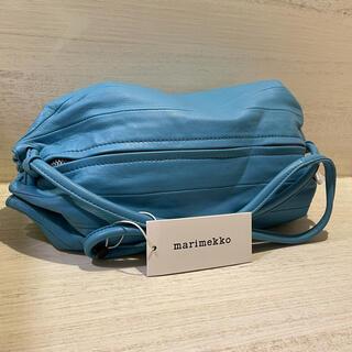 マリメッコ(marimekko)の⭐️ 新品未使用 マリメッコ KARLA ショルダーレザー バッグ(ショルダーバッグ)