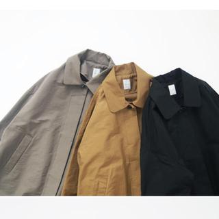 ネストローブ(nest Robe)の休日と詩 比翼のコート カーキグレー(ロングコート)