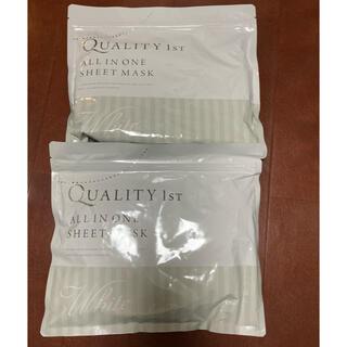 クオリティファースト 化粧品 プラセンタ 日本製 シートマスク 30枚入×2袋(パック/フェイスマスク)
