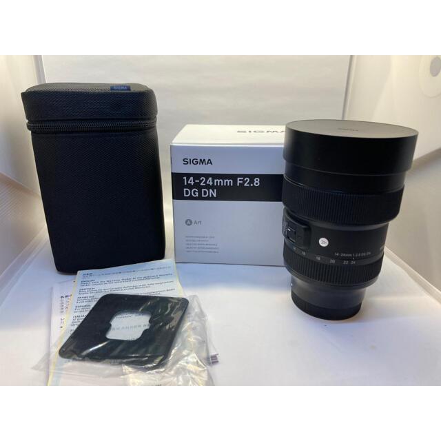 SIGMA(シグマ)の【美品送料込み】SIGMA 14-24mm F2.8 DG DN スマホ/家電/カメラのカメラ(レンズ(ズーム))の商品写真