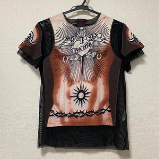 ジャンポールゴルチエ(Jean-Paul GAULTIER)のJean Paul Gaultier 半袖シャツ safe sex(Tシャツ/カットソー(半袖/袖なし))