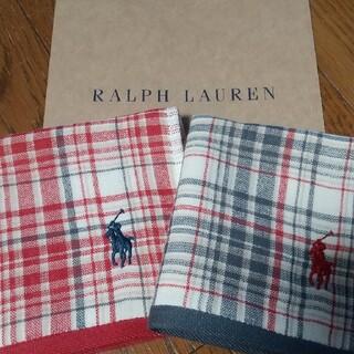 Ralph Lauren - 新品 ラルフローレンタオルハンカチ