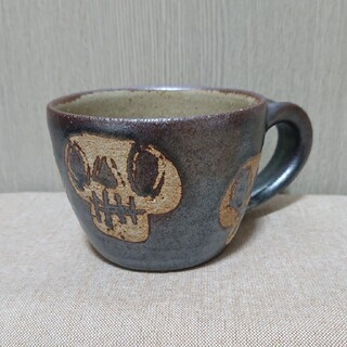 JOURNAL STANDARD - 工房十鶴* ドクロ *コーヒーカップ