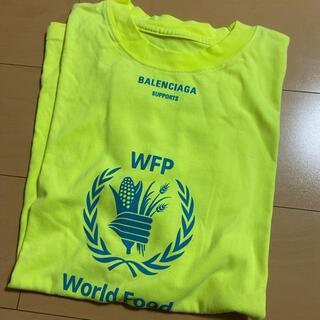 Balenciaga - 【最初SALE】dude9製 BALENCIAGA WFPオーバーサイズTシャツ