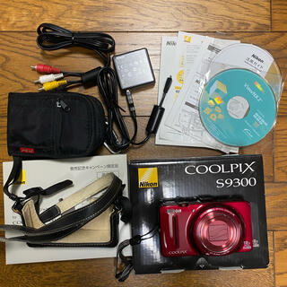 Nikon - Nikon COOLPIX Style COOLPIX S9300
