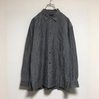 イッセイミヤケ(ISSEY MIYAKE)のissey miyake men shirt pleats gray(シャツ)