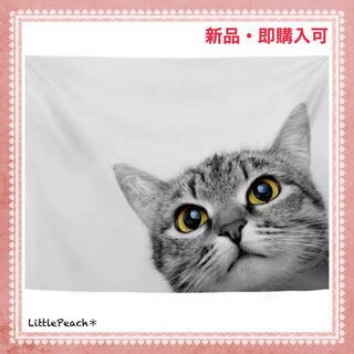 北欧インテリア 布ポスター ファブリックポスター 子猫03(その他)