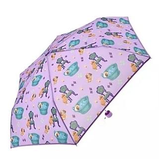 ディズニー(Disney)のわんわん物語レディ折りたたみ傘(傘)