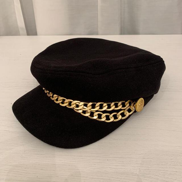 GALLERIE チェーンマリンキャスケット レディースの帽子(キャップ)の商品写真