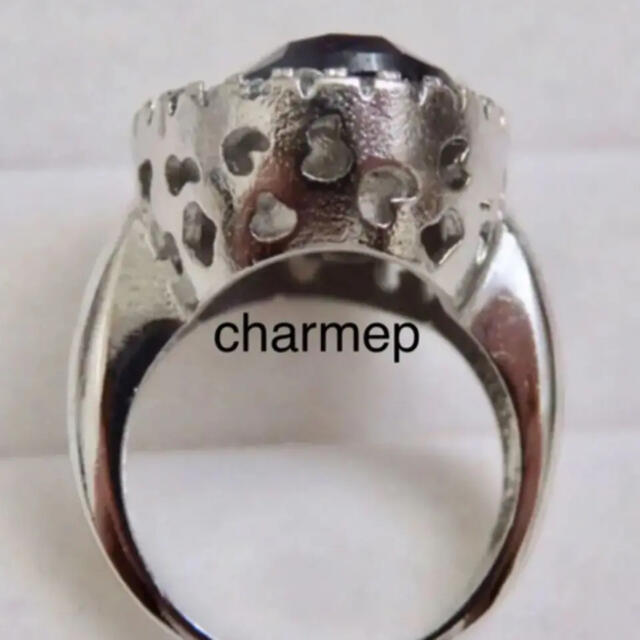 【VR035】アメジストのようなゴージャスで個性的なシルバーリング指輪 レディースのアクセサリー(リング(指輪))の商品写真