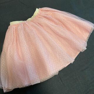 エフオーキッズ(F.O.KIDS)のアプレレクール 120cmチュールスカート(スカート)