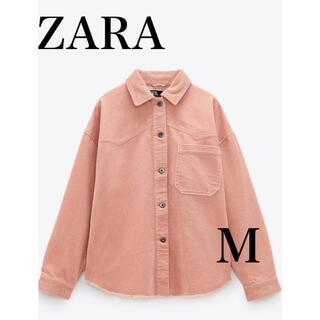 ZARA - ZARA *コーデュロイ シャツジャケット
