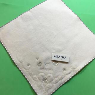 アガタ(AGATHA)のAGATHA....ミニタオル…新品未使用(ハンカチ)