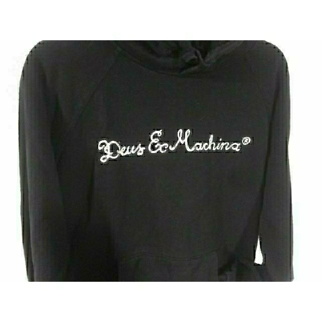 Deus ex Machina(デウスエクスマキナ)の『古着』 ブラック パーカー メンズのトップス(パーカー)の商品写真