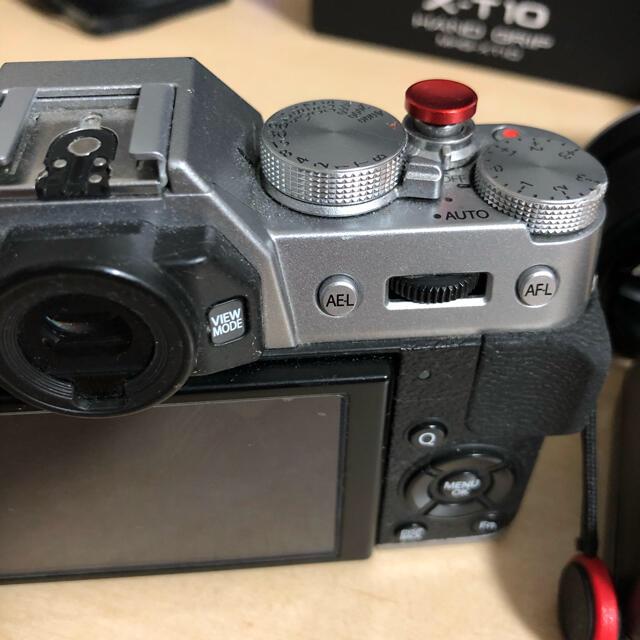 富士フイルム(フジフイルム)のFUJIFILM X-T10 ボディ レンズ 付属品多数 スマホ/家電/カメラのカメラ(ミラーレス一眼)の商品写真