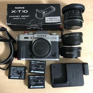 富士フイルム - FUJIFILM X-T10 ボディ レンズ 付属品多数