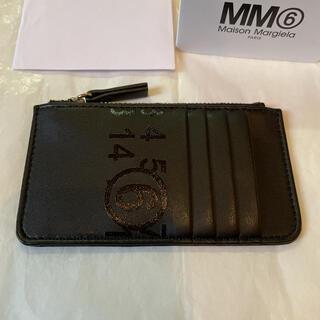 MM6 - MM6 エムエム6  メゾンマルジェラ カードケース コインケース ブラック