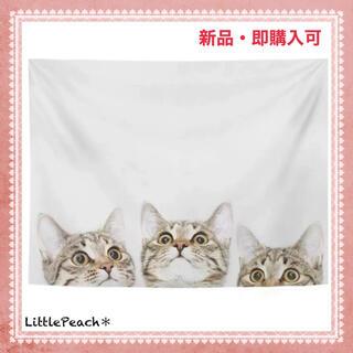 北欧インテリア 布ポスター ファブリックポスター 子猫02(その他)