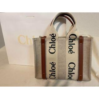 Chloe - Chloe クロエ woody トートバッグ Sサイズ