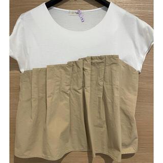 ビスチェ風Tシャツ/カットソー(カットソー(半袖/袖なし))
