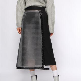 HARE - hare PVCデザインペンシルスカート