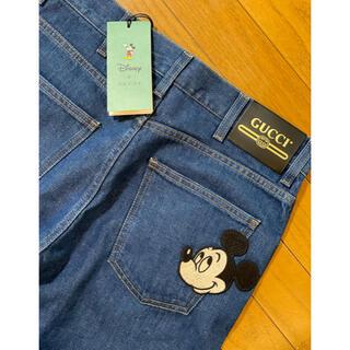 Gucci - ●GUCCIグッチ×disneyミッキーマウスアップリケデニム30新品