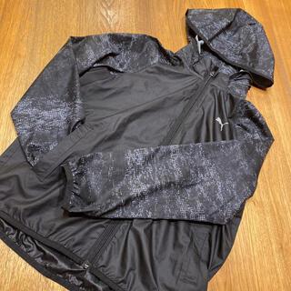 プーマ(PUMA)の《PUMA プーマ 》ウインドブレーカー 140  黒(ジャケット/上着)