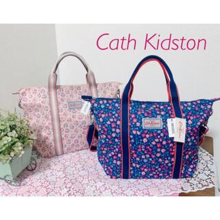 Cath Kidston - 新品 キャスキッドソン 2Way バッグ ネイビー 花柄