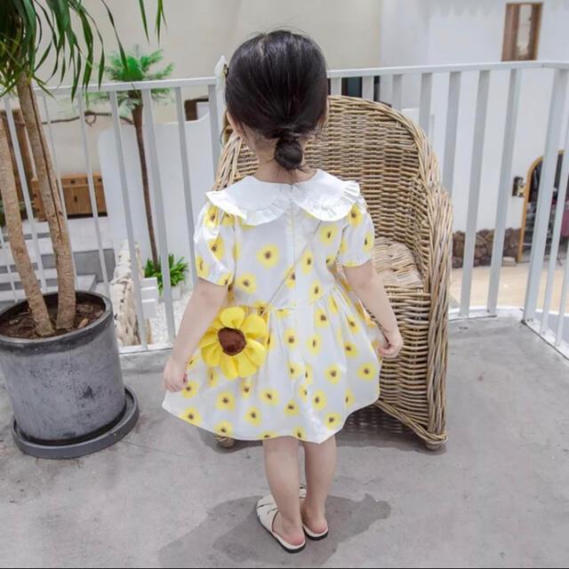 海外輸入子供服100㎝ キッズ/ベビー/マタニティのキッズ服女の子用(90cm~)(ワンピース)の商品写真