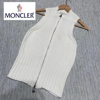 モンクレール(MONCLER)のモンクレール❤️コットンニット トップス❤️(カットソー(半袖/袖なし))