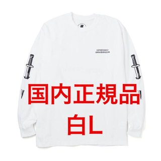 UNDEFEATED - 白 L undefeated neighborhood ロングTシャツ ロンT