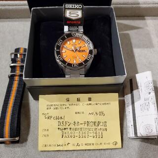 セイコー(SEIKO)の【新品・未使用】SEIKO5スポーツ ダイバーズ(腕時計(アナログ))