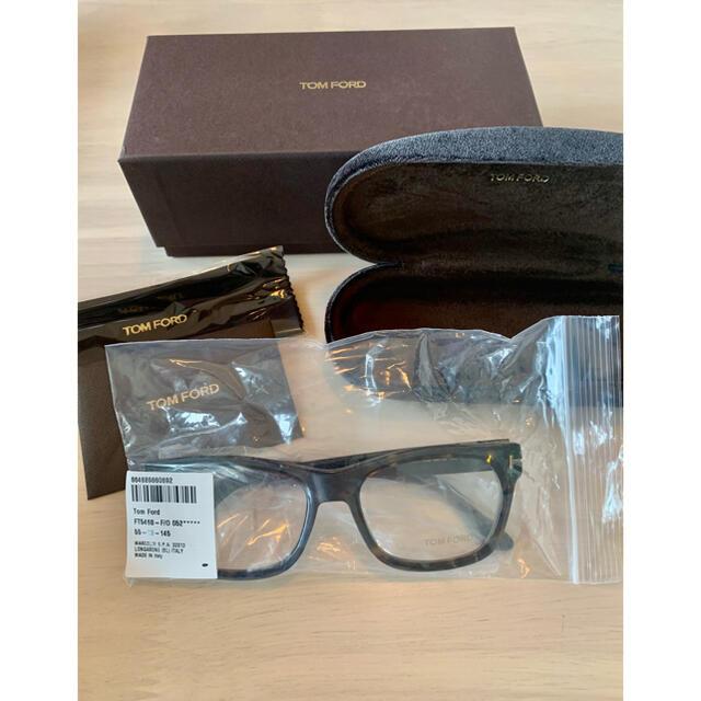 TOM FORD(トムフォード)の【新品】TOM FORD TF5468-F 052 ブラック アジアンフィット メンズのファッション小物(サングラス/メガネ)の商品写真
