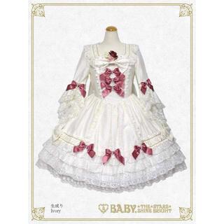 ベイビーザスターズシャインブライト(BABY,THE STARS SHINE BRIGHT)のpearl bouquet princess dress ※今だけ値下げ(ひざ丈ワンピース)