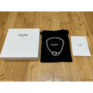 セリーヌ(celine)の定価20万 Celine セリーヌ ハンドカフ ネックレス 2重巻ブレスレット(ネックレス)