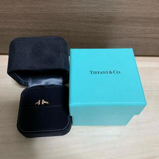 Tiffany & Co. - 【極美品】ティファニー  ダイヤ付 ワイヤーリング 8号