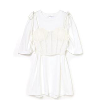 Bubbles - MELT THE LADY corset T-onepiece